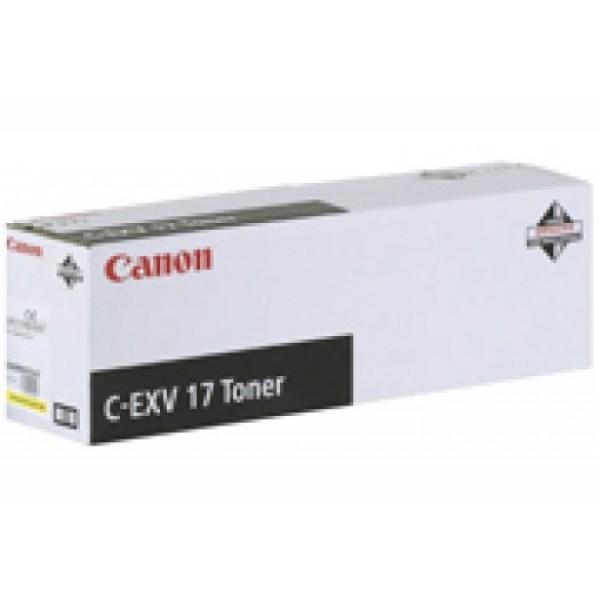 Canon C-EXV-17 Orjinal Kırmızı Fotokopi Toner