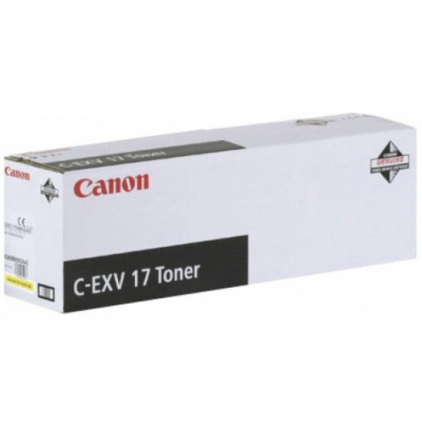 Canon C-EXV-17 Orjinal Mavi Fotokopi Toner