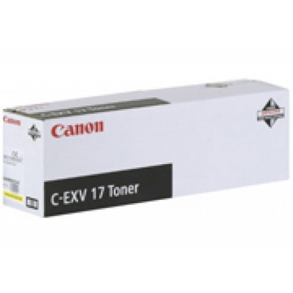Canon C-EXV-17 Orjinal Sarı Fotokopi Toner