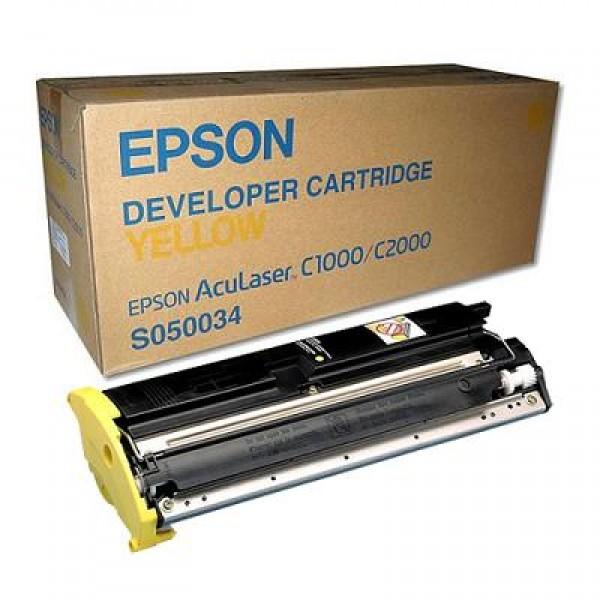 Epson C1000-C2000/C13S050034 Orjinal Sarı Toner