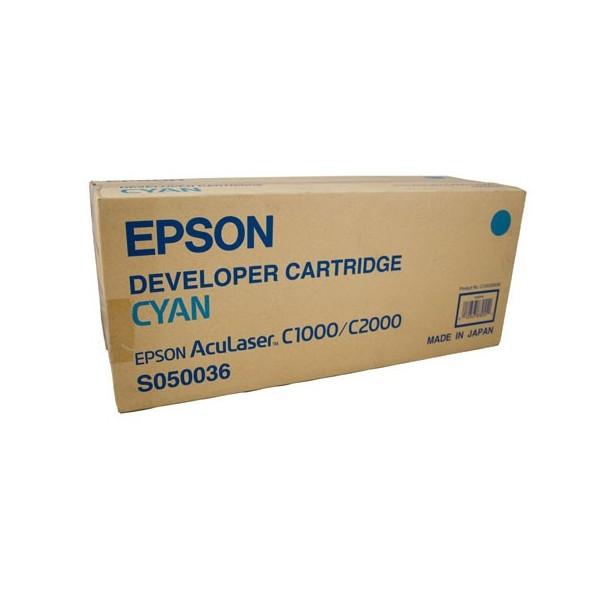 Epson C1000-C2000/C13S050036 Orjinal Mavi Toner