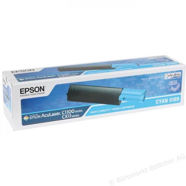Epson C1100-CX-11-C13S050189 Orjinal Mavi Toner XL