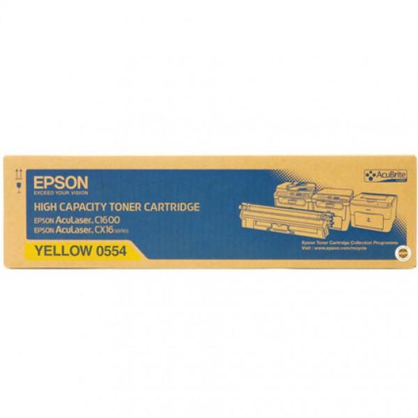 Epson C1600-CX-16-C13S050554 Orjinal Sarı Toner Y.K.