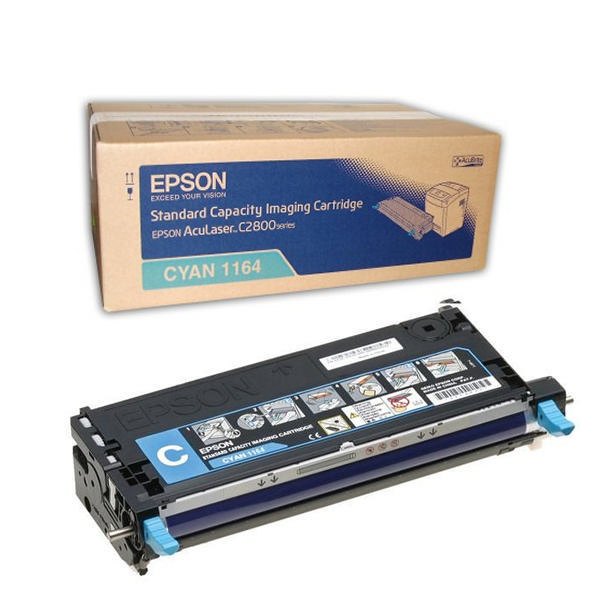 Epson C2800 C13S051164 Orjinal Mavi Toner