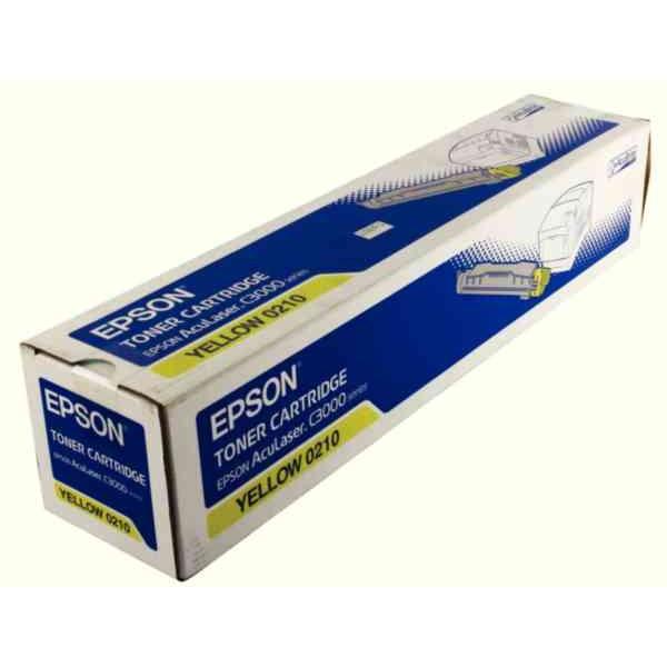 Epson C3000 C13S050210 Orjinal Sarı Toner