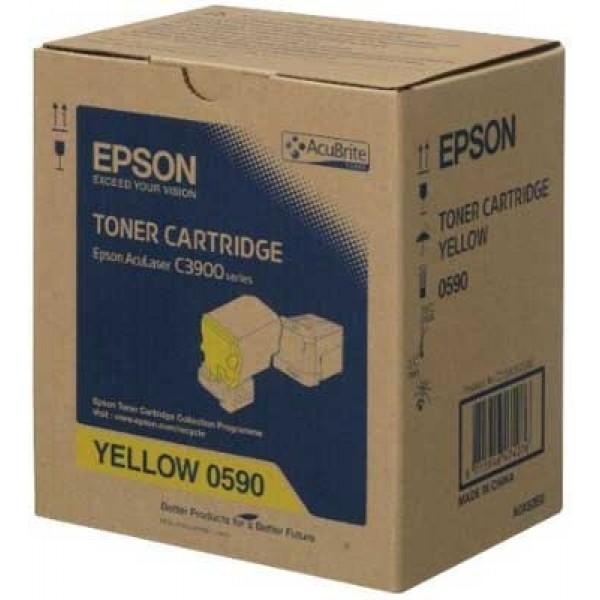 Epson C3900-CX37-C13S050590 Orjinal Sarı Toner