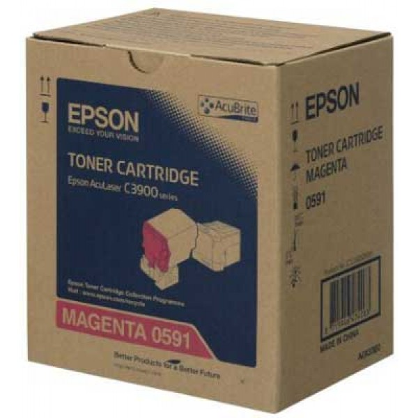 Epson C3900-CX37-C13S050591 Orjinal Kırmızı Toner