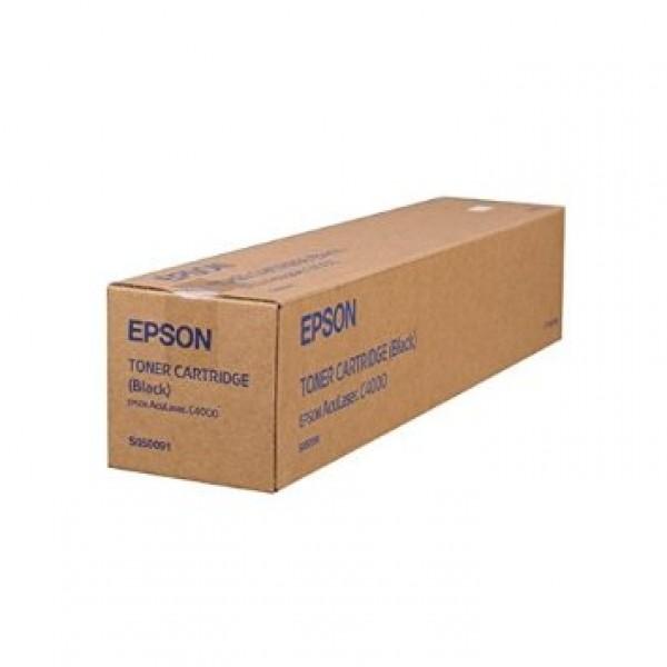Epson C4000 C13S050091 Orjinal Siyah Toner