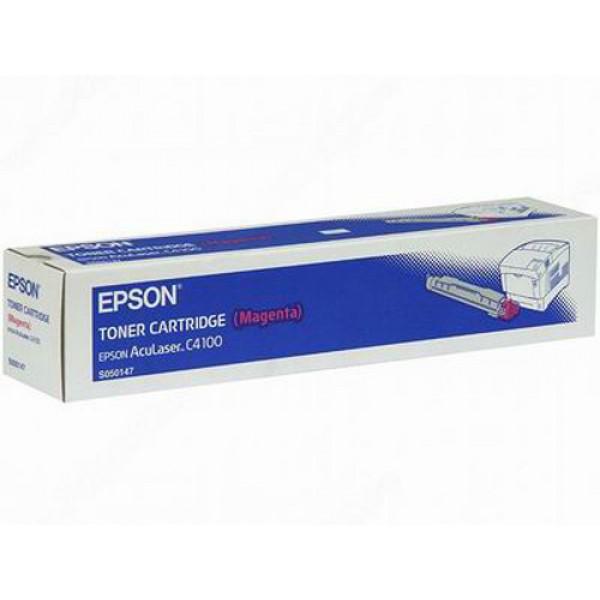 Epson C4100 C13S050147 Orjinal Kırmızı Toner