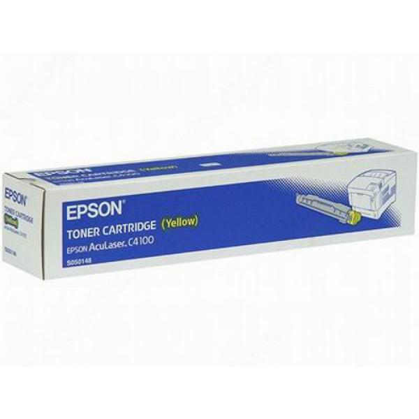 Epson C4100 C13S050148 Orjinal Sarı Toner