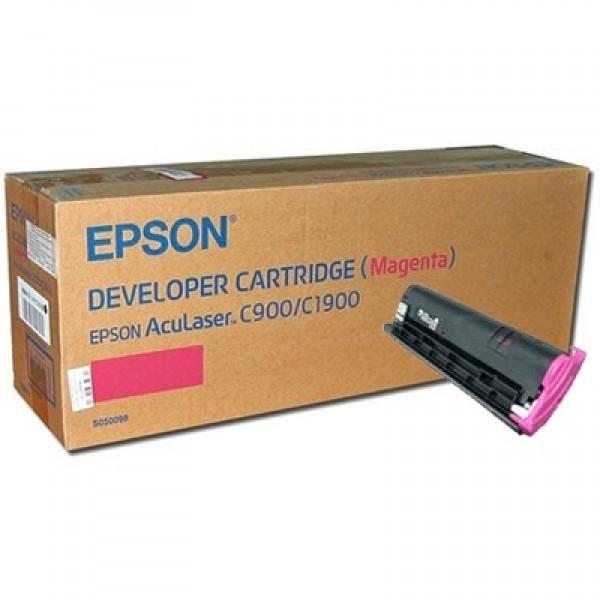 Epson C900 C1900 C13S050098 Orjinal Kırmızı Toner Y.K.