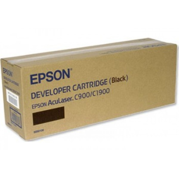 Epson C900 C1900 C13S050100 Orjinal Siyah Toner