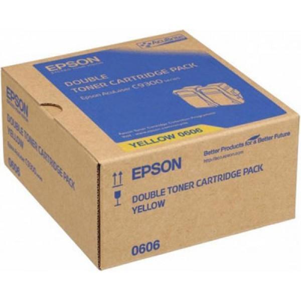 Epson C9300 C13S050607 Orjinal Kırmızı Toner 2 li