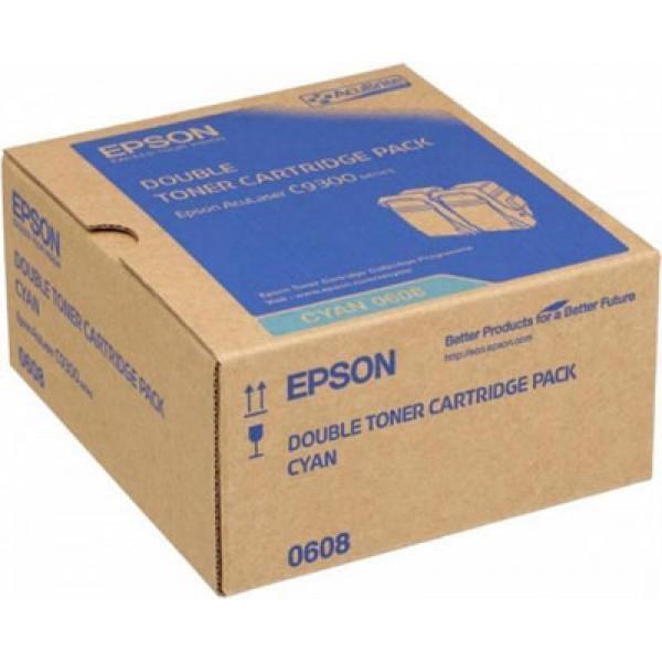 Epson C9300-C13S050608 Orjinal Mavi Toner 2 li