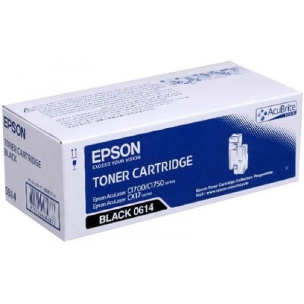 Epson CX-17-C1700-C1750-C13S050614 Orjinal Siyah Toner Y.K.