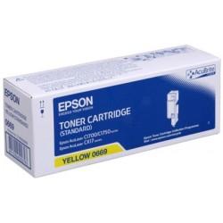 Epson CX-17-C1700-C1750-C13S050669 Orjinal Sarı Toner