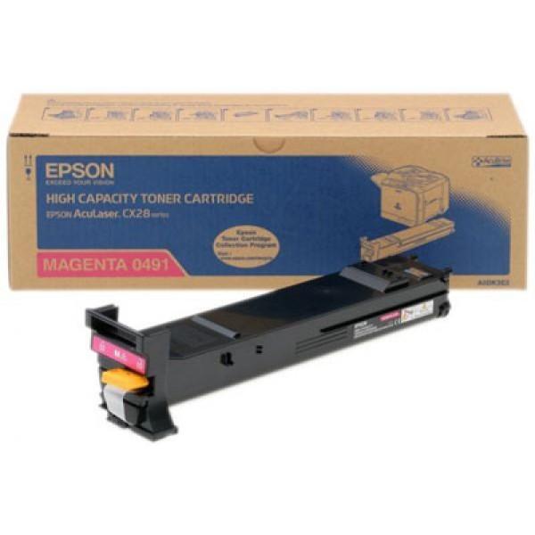 Epson CX28-C13S050491 Orjinal Kırmızı Toner
